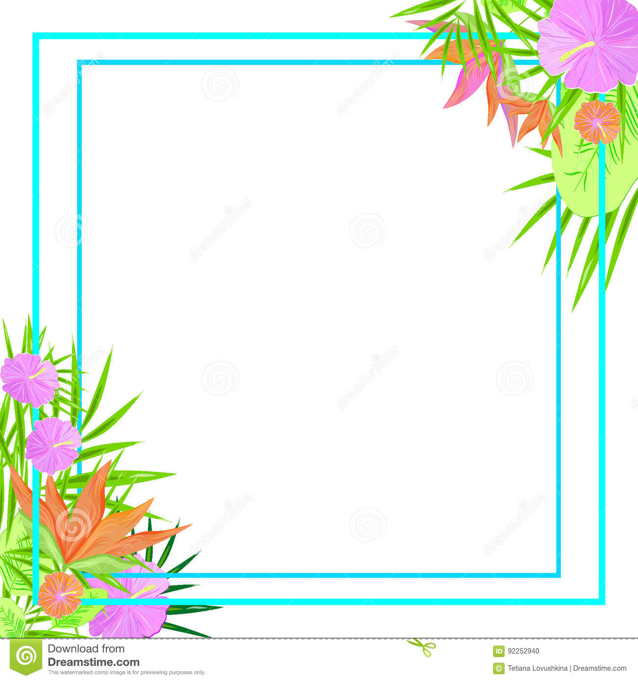 Frame stock illustration image of color botanist business frame magicingreecefo Gallery