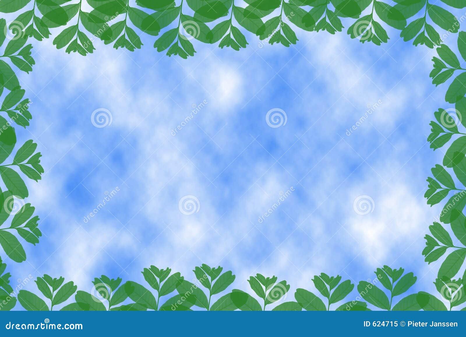 Frame van bladeren
