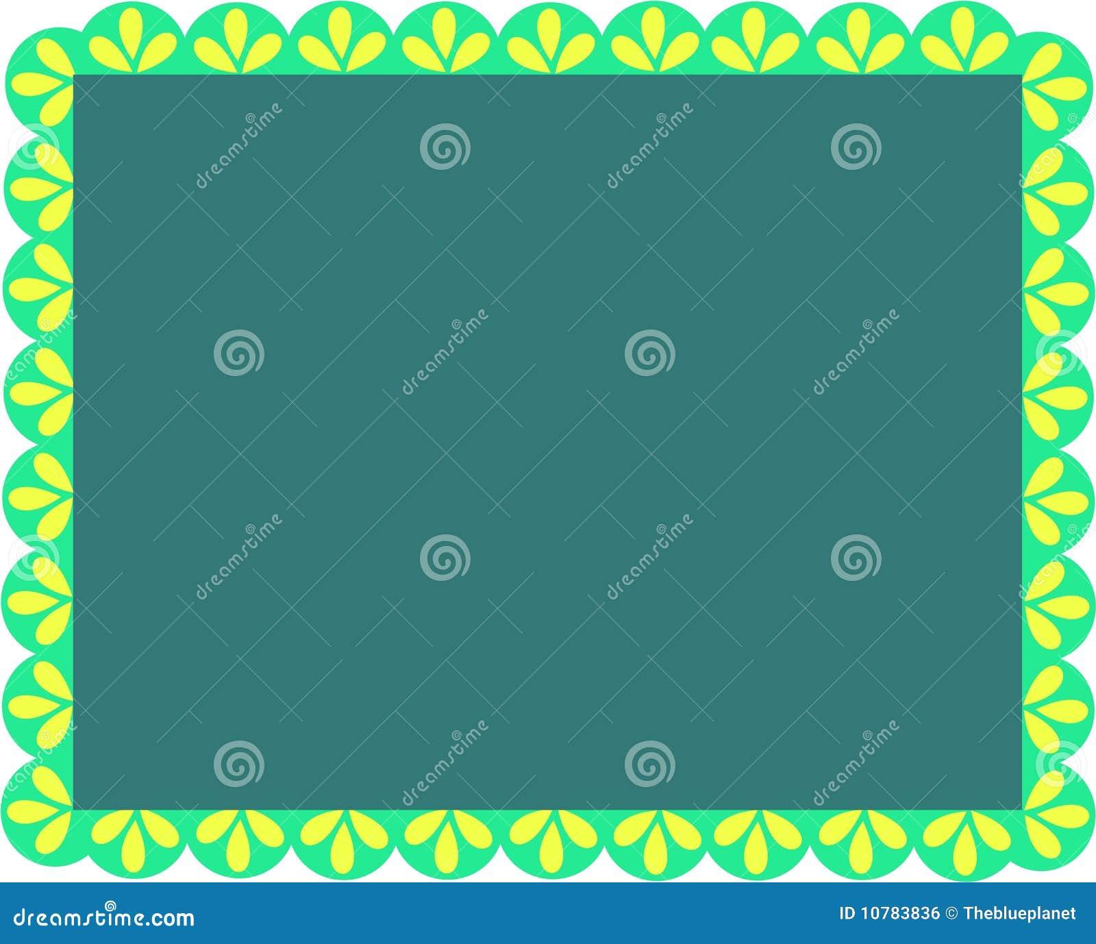 Frame van Greens en Bladeren
