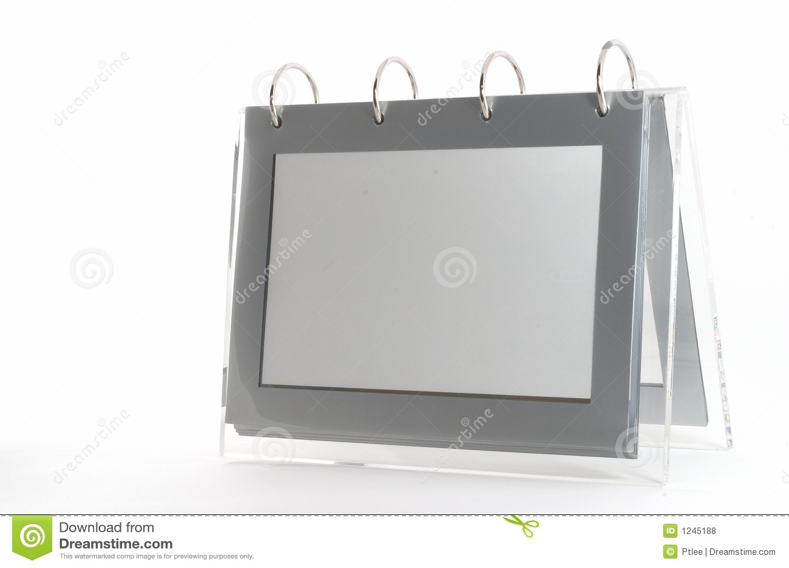 Frame vazio da foto da pasta de anel