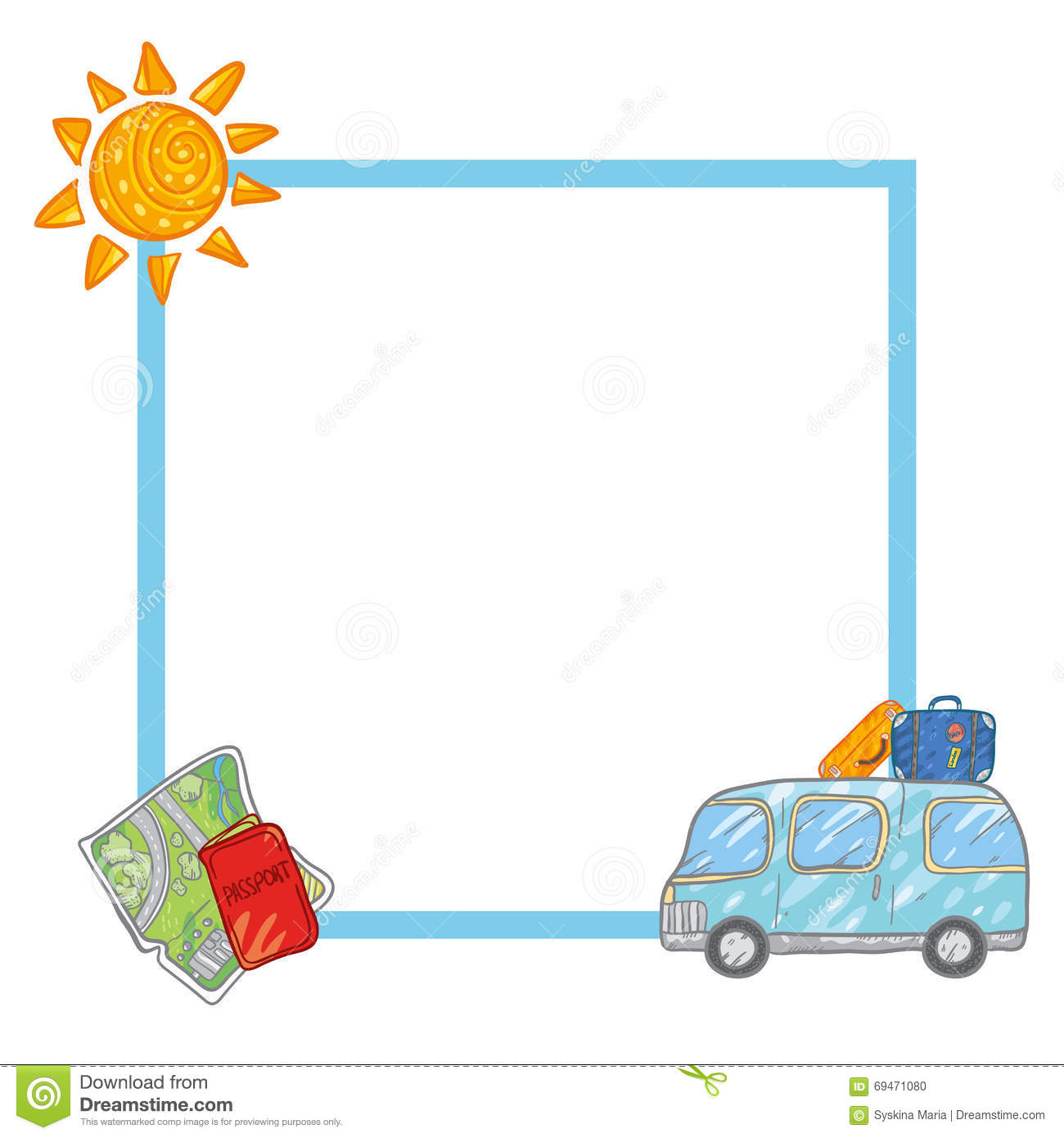 Frame Stock Illustration Image 69471080