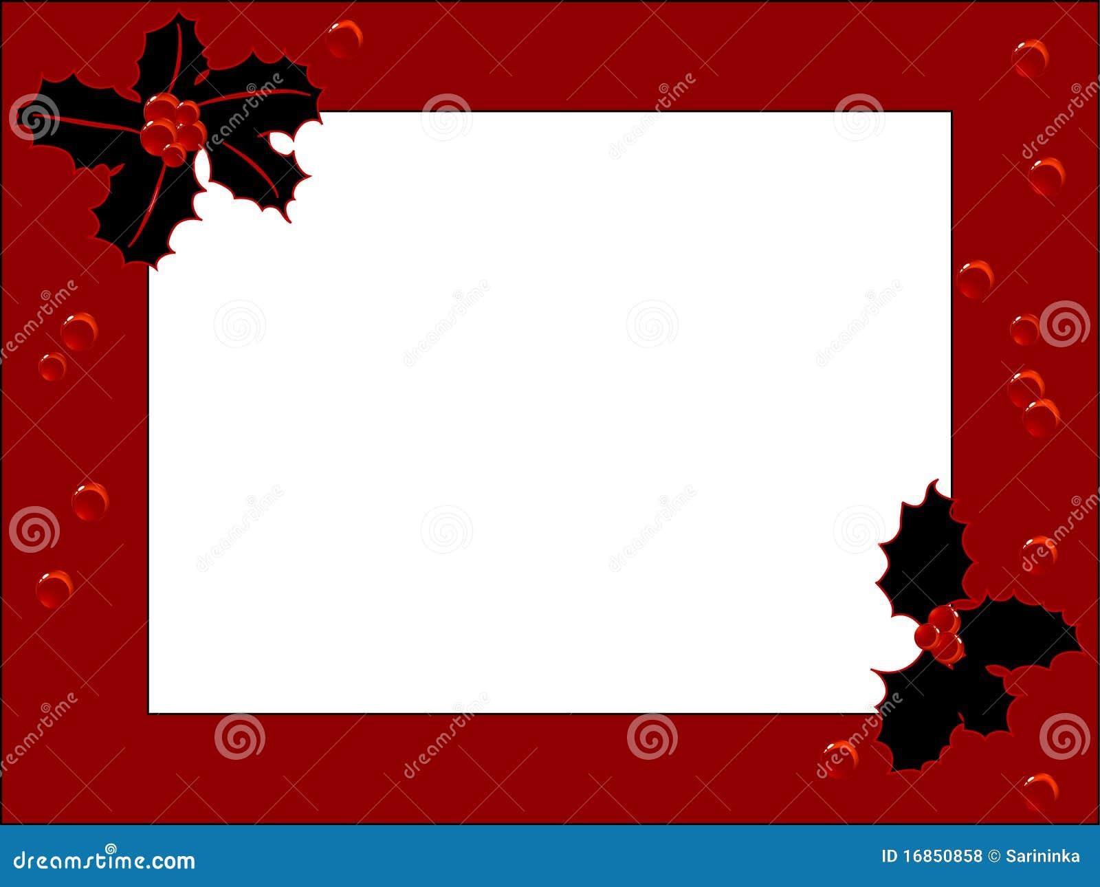 Frame vermelho