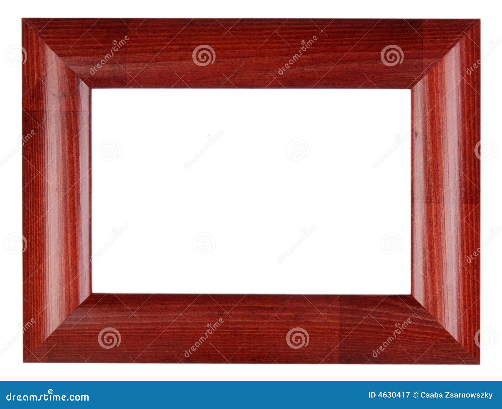 Frame vermelho da foto