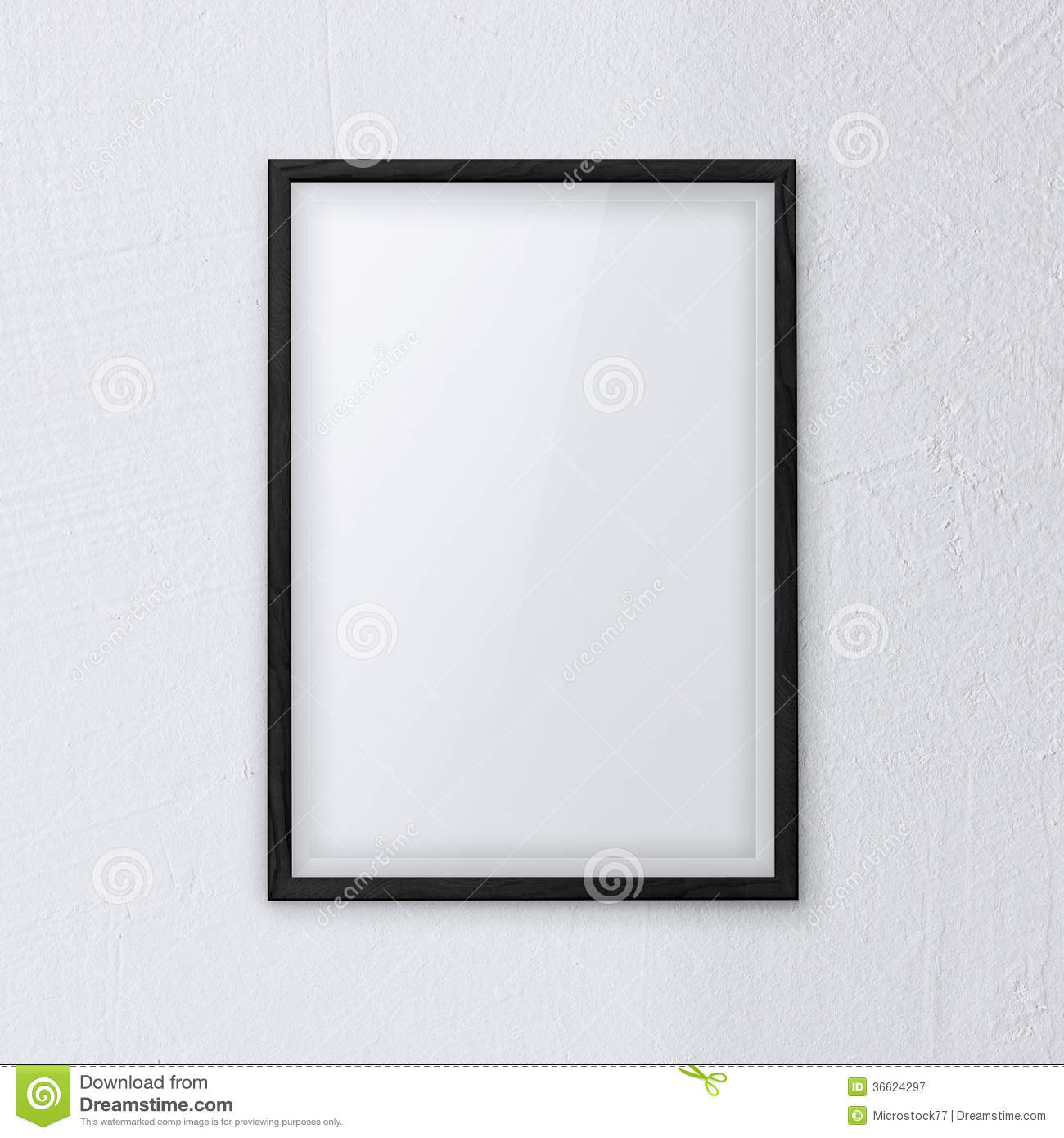 Picture Frame Wall frame wall white royalty free stock photography - image: 36624297