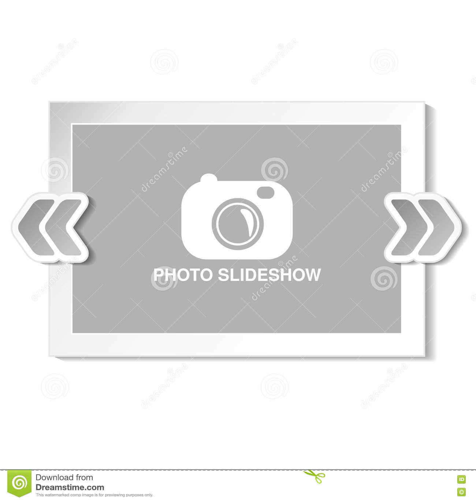 Frame For Website Slideshow, Presentation Or Series Of Projected ...