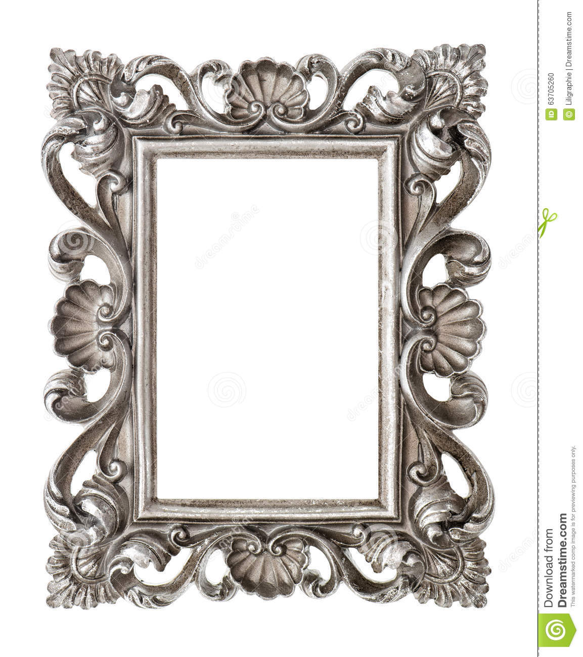 frame your picture photo image vintage silver baroque object stock photo image of. Black Bedroom Furniture Sets. Home Design Ideas