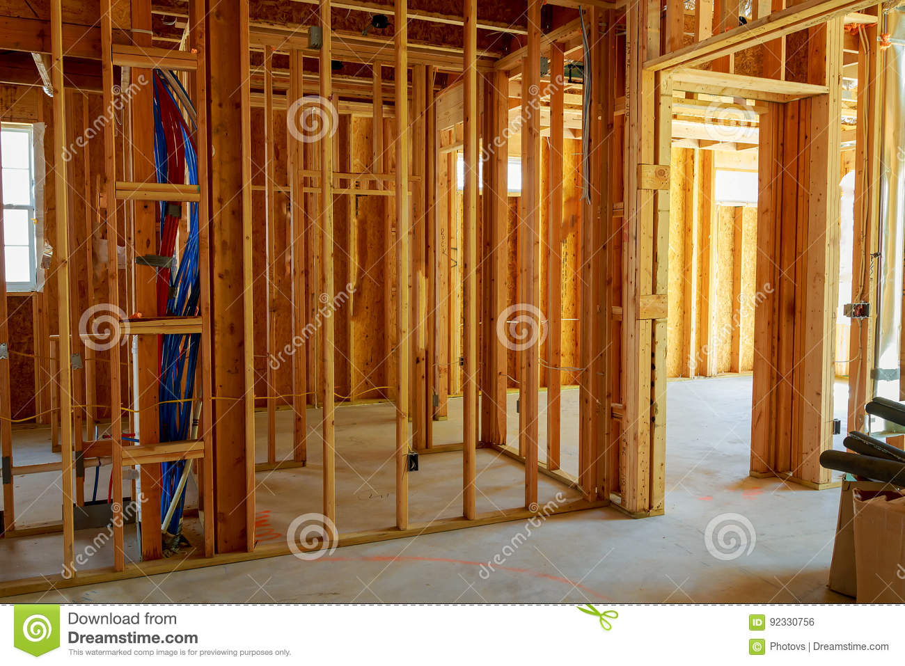 Log Home Wiring Framed Building Or Residential With Basic Electrical Complete