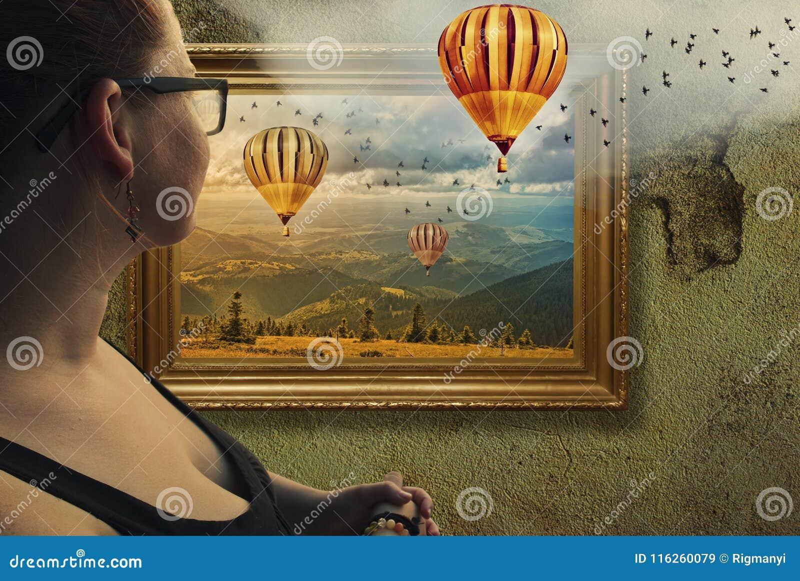 Framed illusion