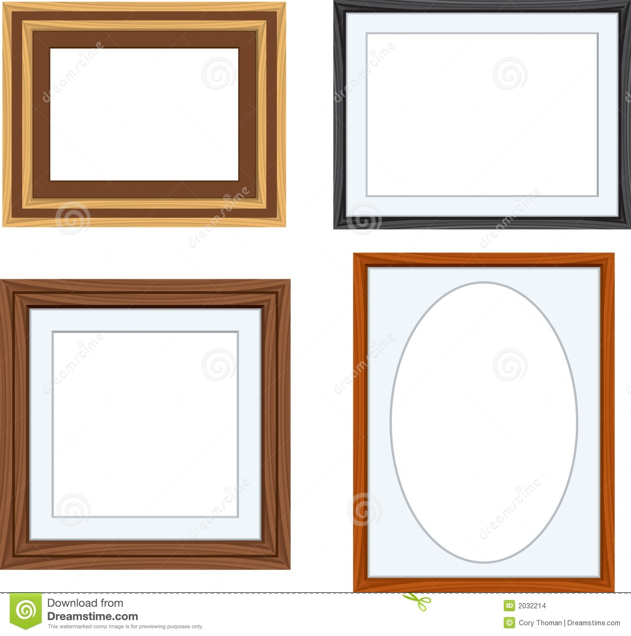 Frames Stock Vector Illustration Of Clip White Image 2032214