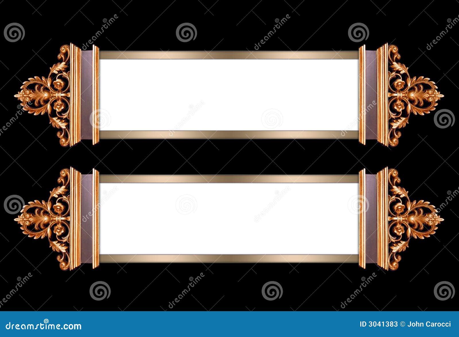 Frames de retrato extravagantes