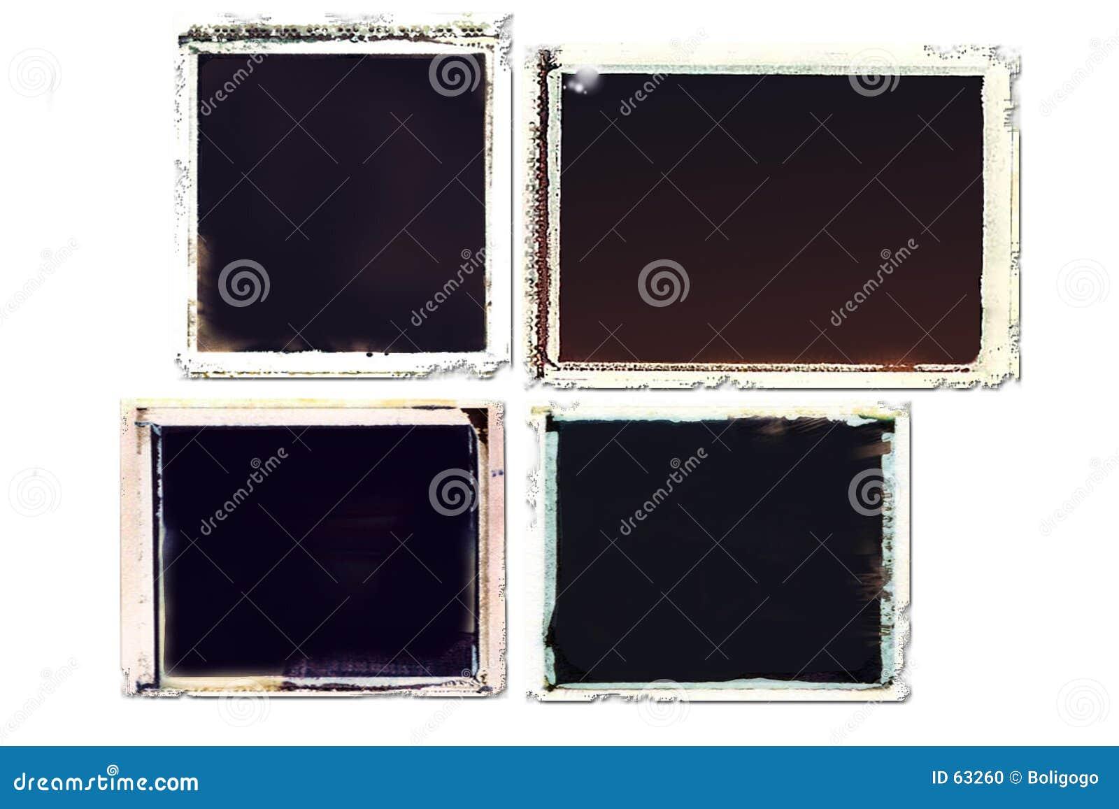 Frames de transferência de Grunge