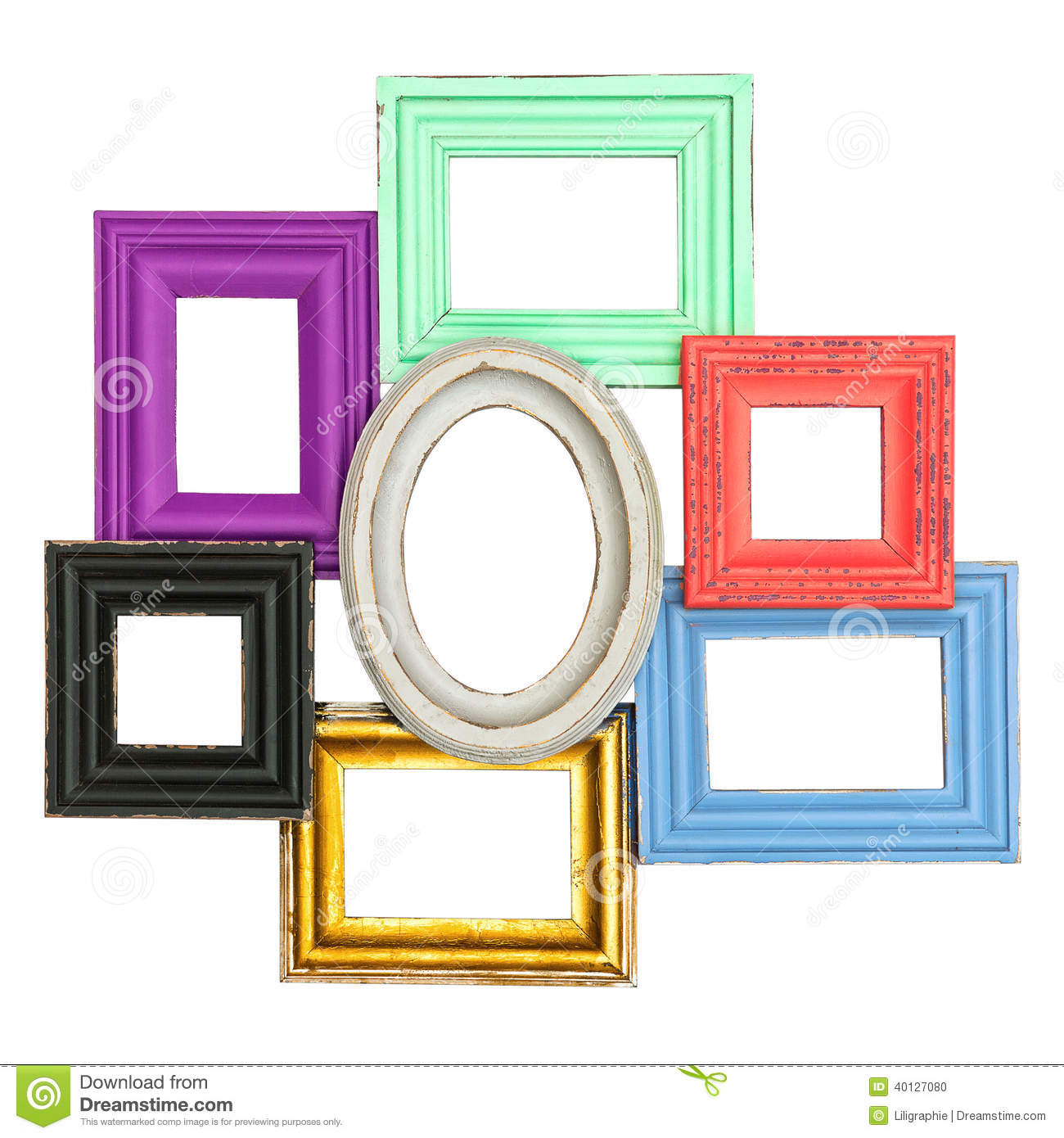 Frames for photo and picture vintage style framework for Small vintage style picture frames
