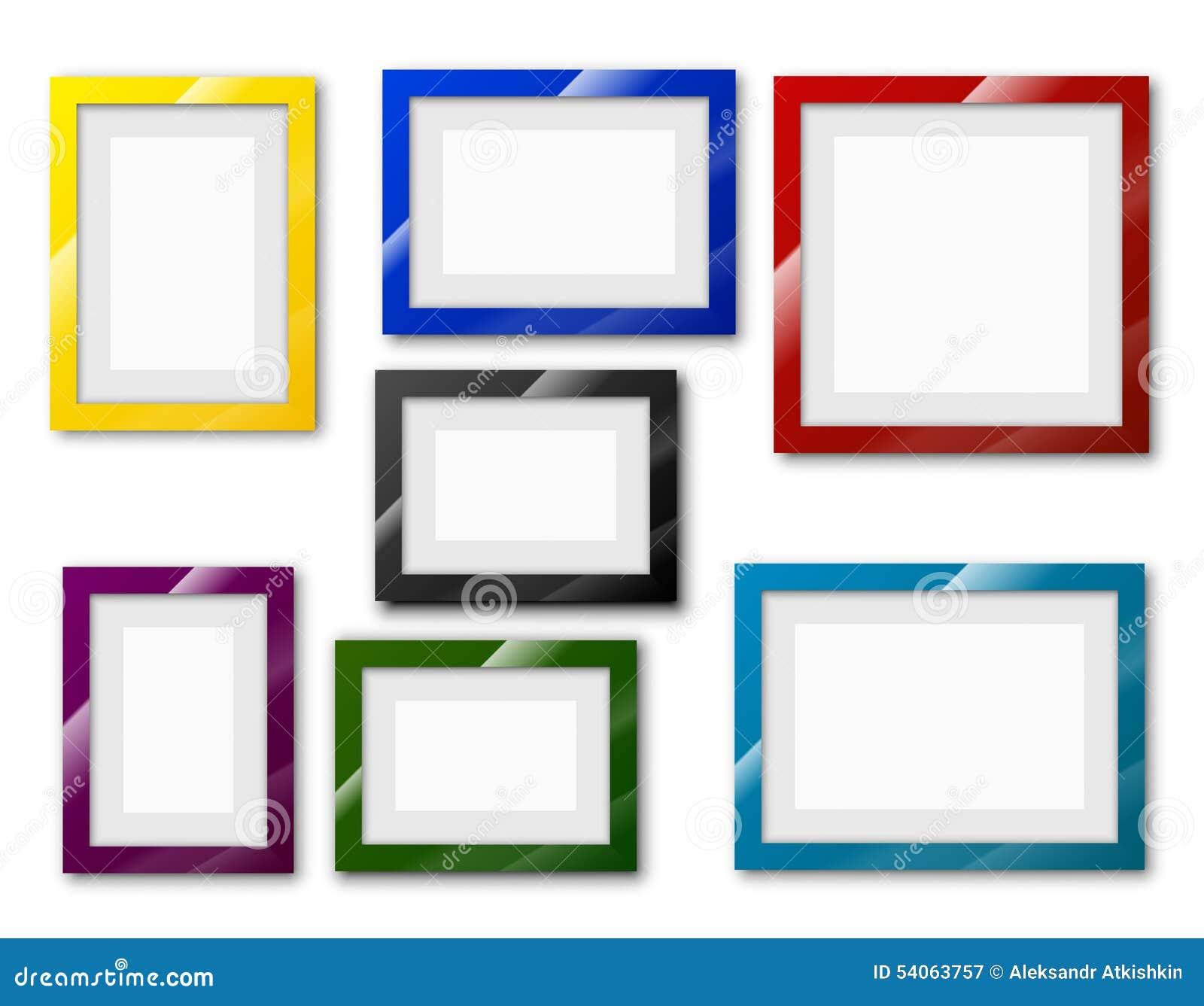 Frames set stock image image of office bulletin gallery 54063757 royalty free stock photo jeuxipadfo Images