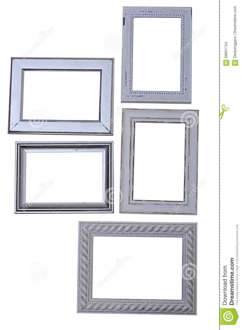 frames of various sizes and types stock photo image of office