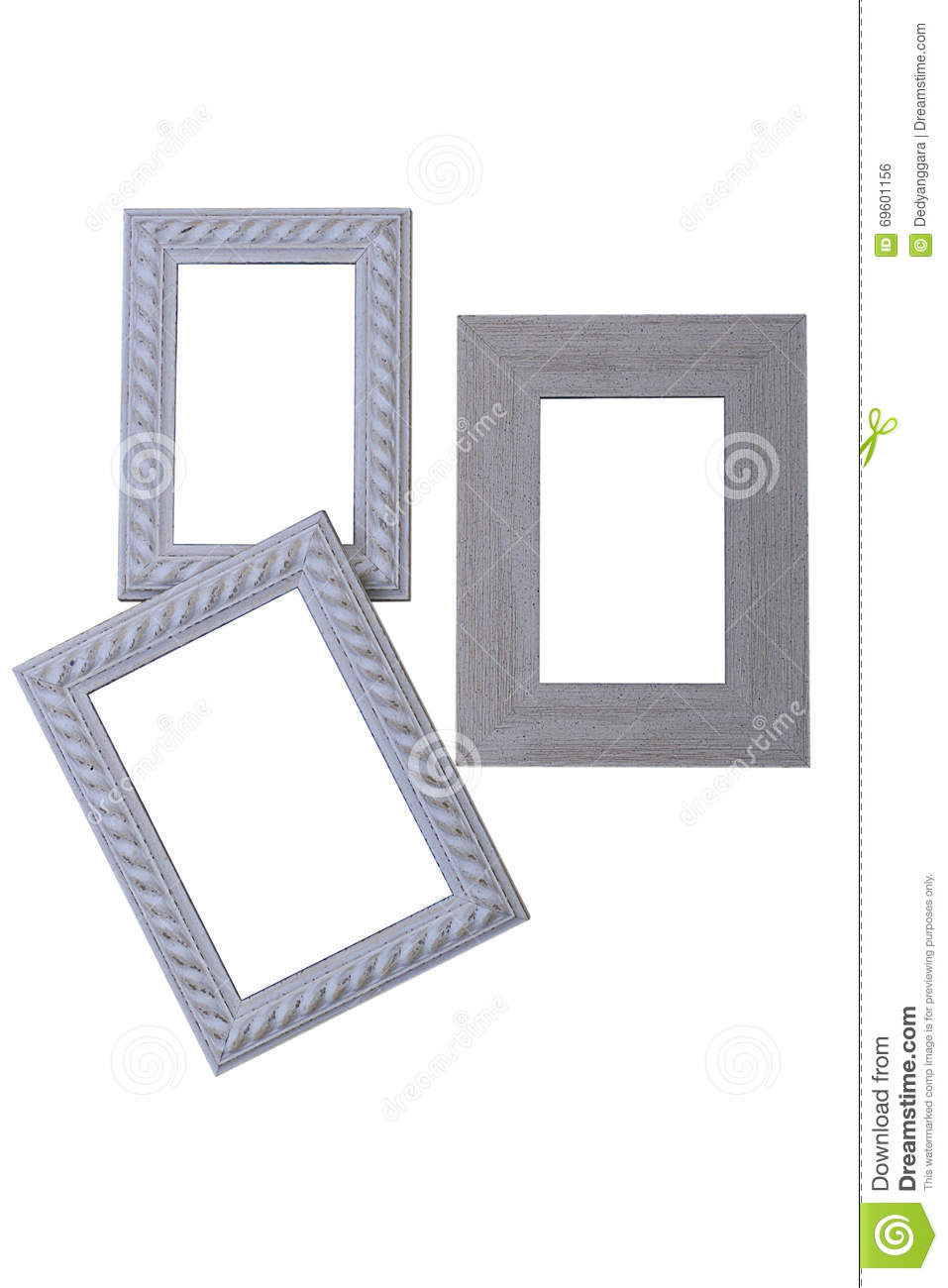 Frames Of Various Sizes And Types Stock Photo - Image of painting ...