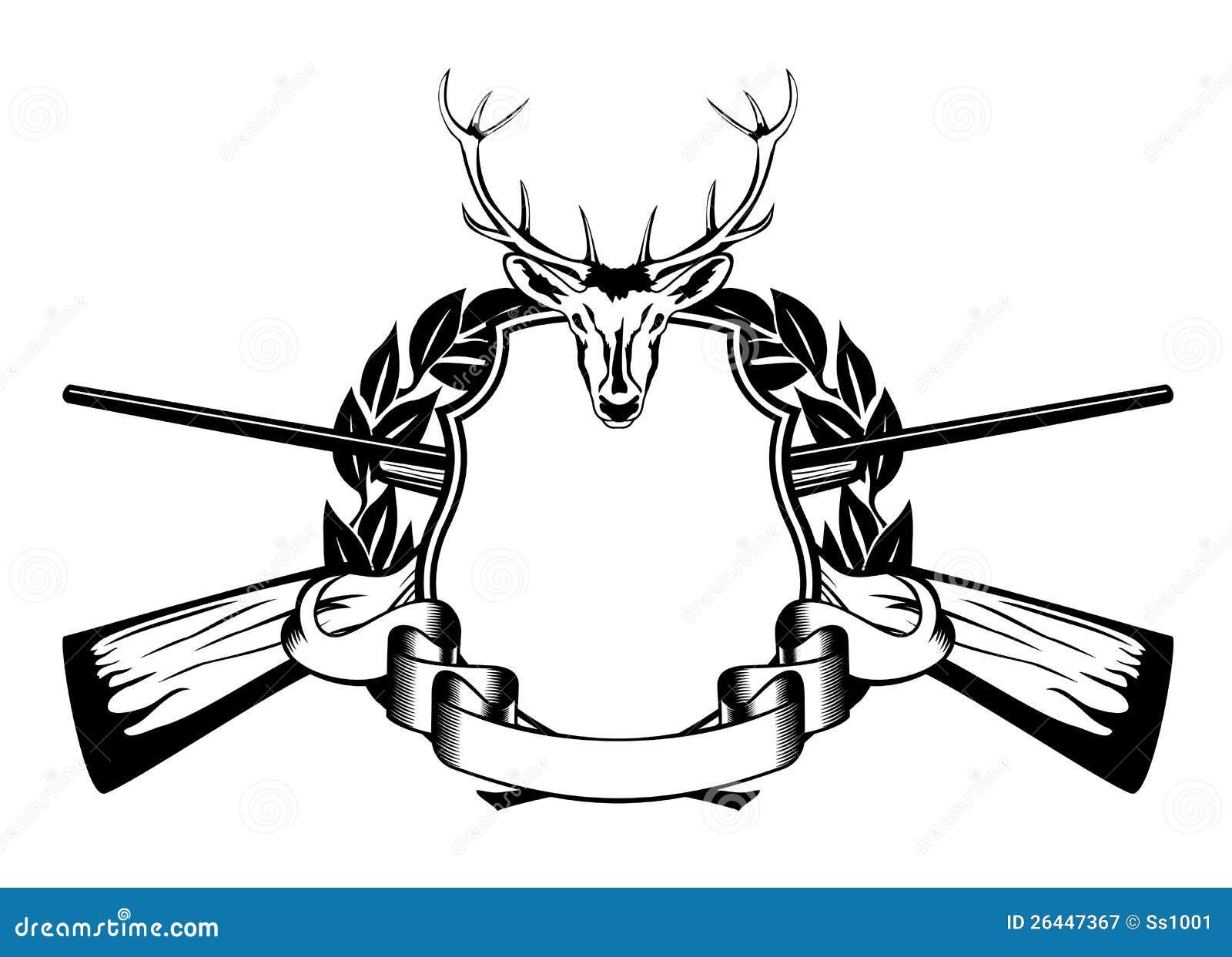 Framework Hunting Theme Royalty Free Stock Photography - Image ...