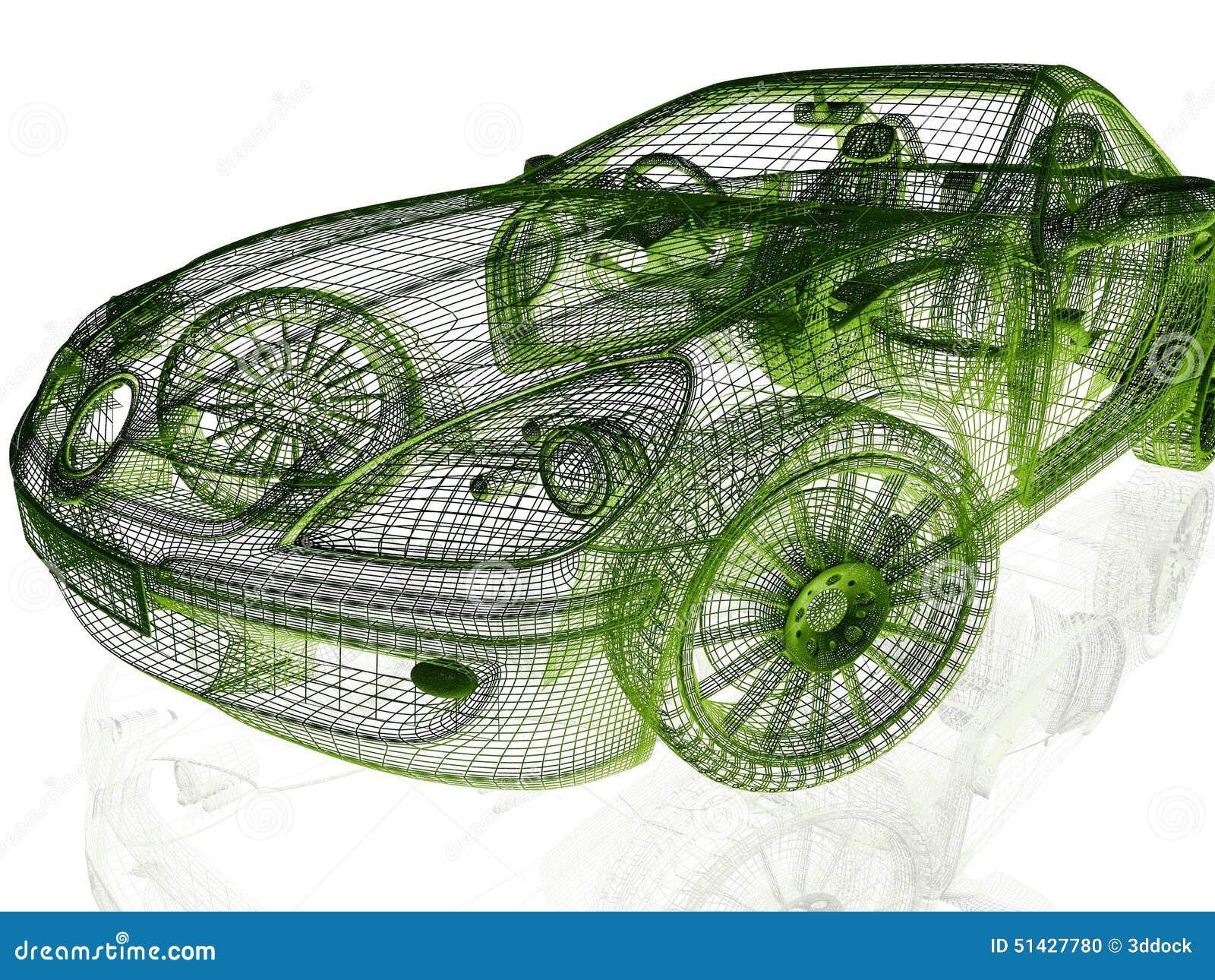 Framework Model Car Stock Illustrations – 61 Framework Model Car ...