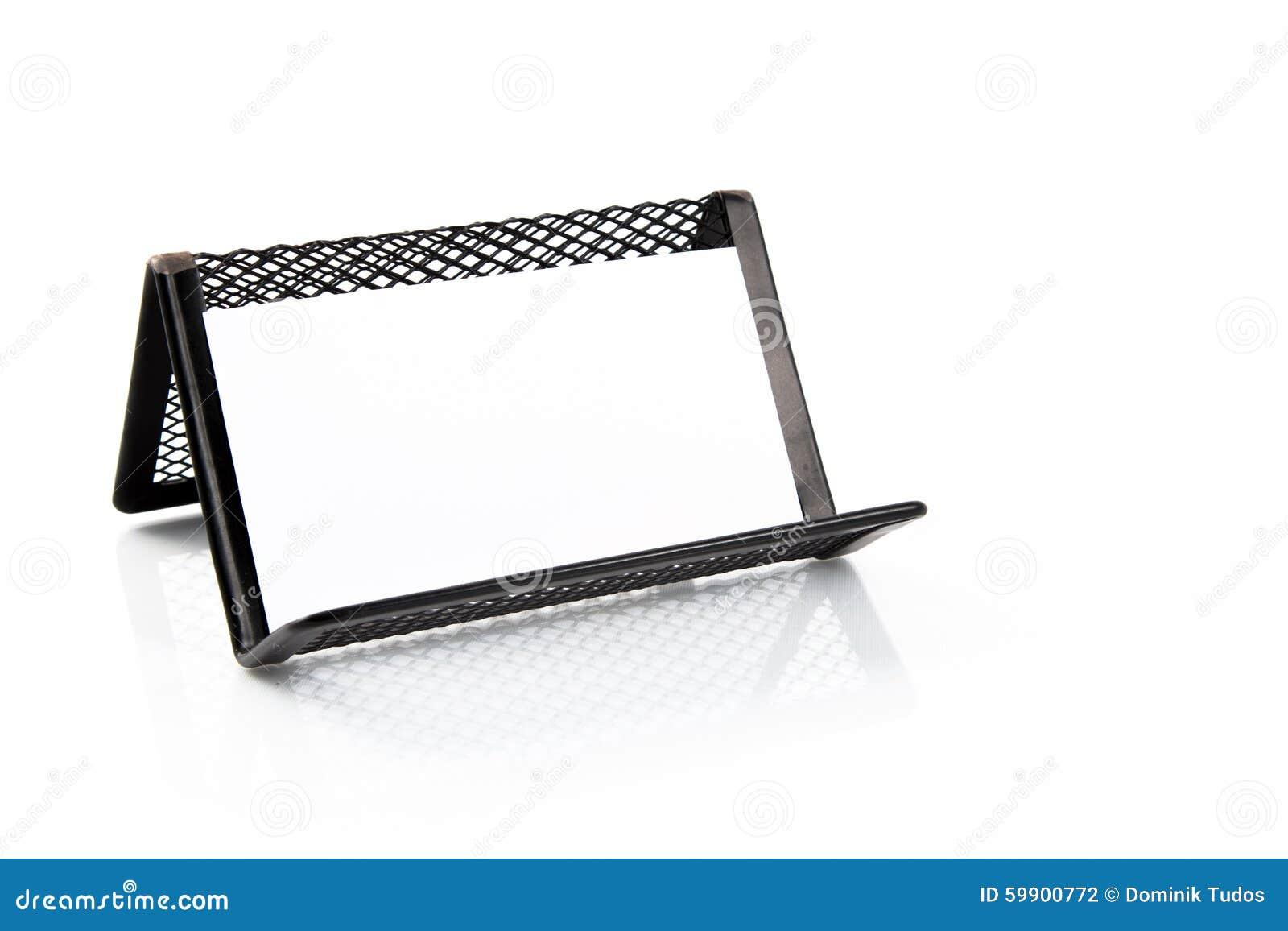 Framförd bild för hållare för kort 3d