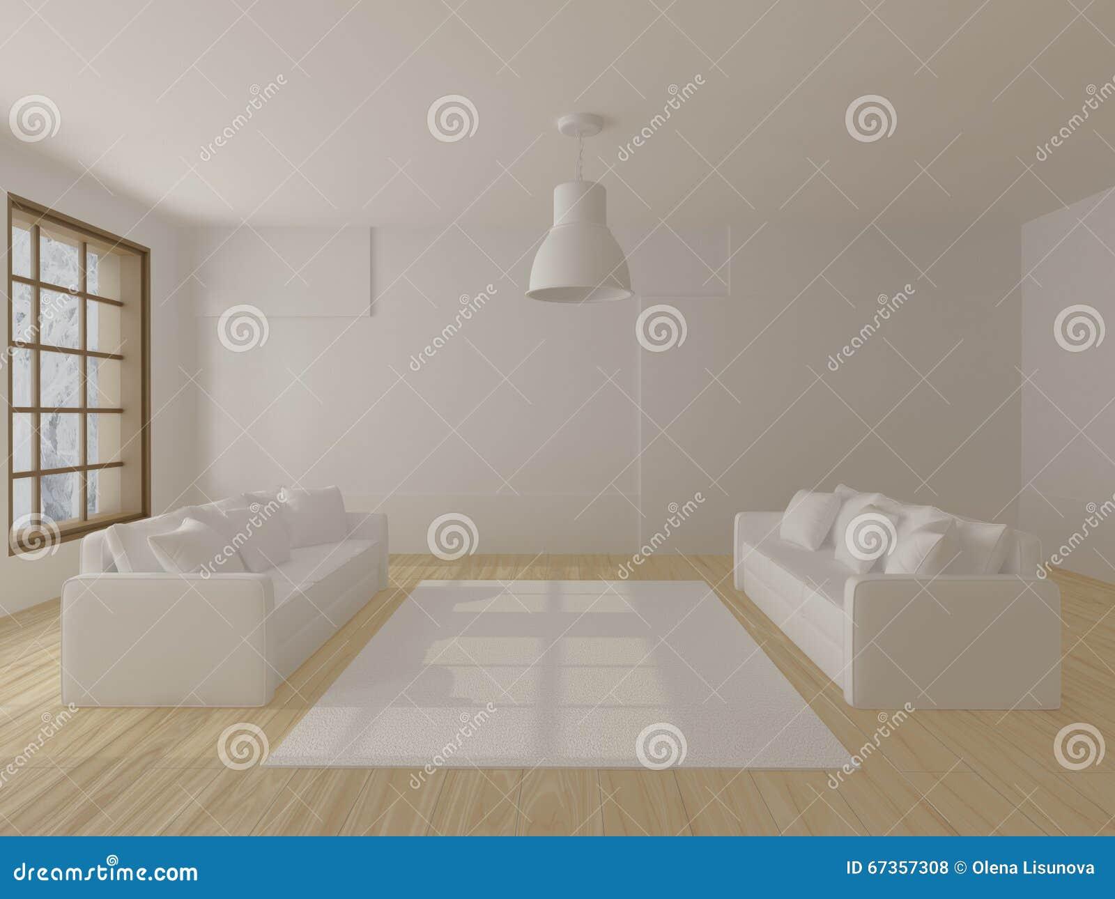 Två vita soffor stock illustrationer   bild: 59002735