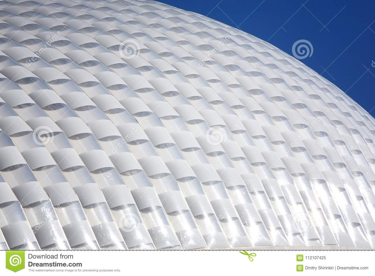 Plastic dome stock image. Image of structure, exhibition - 112107425