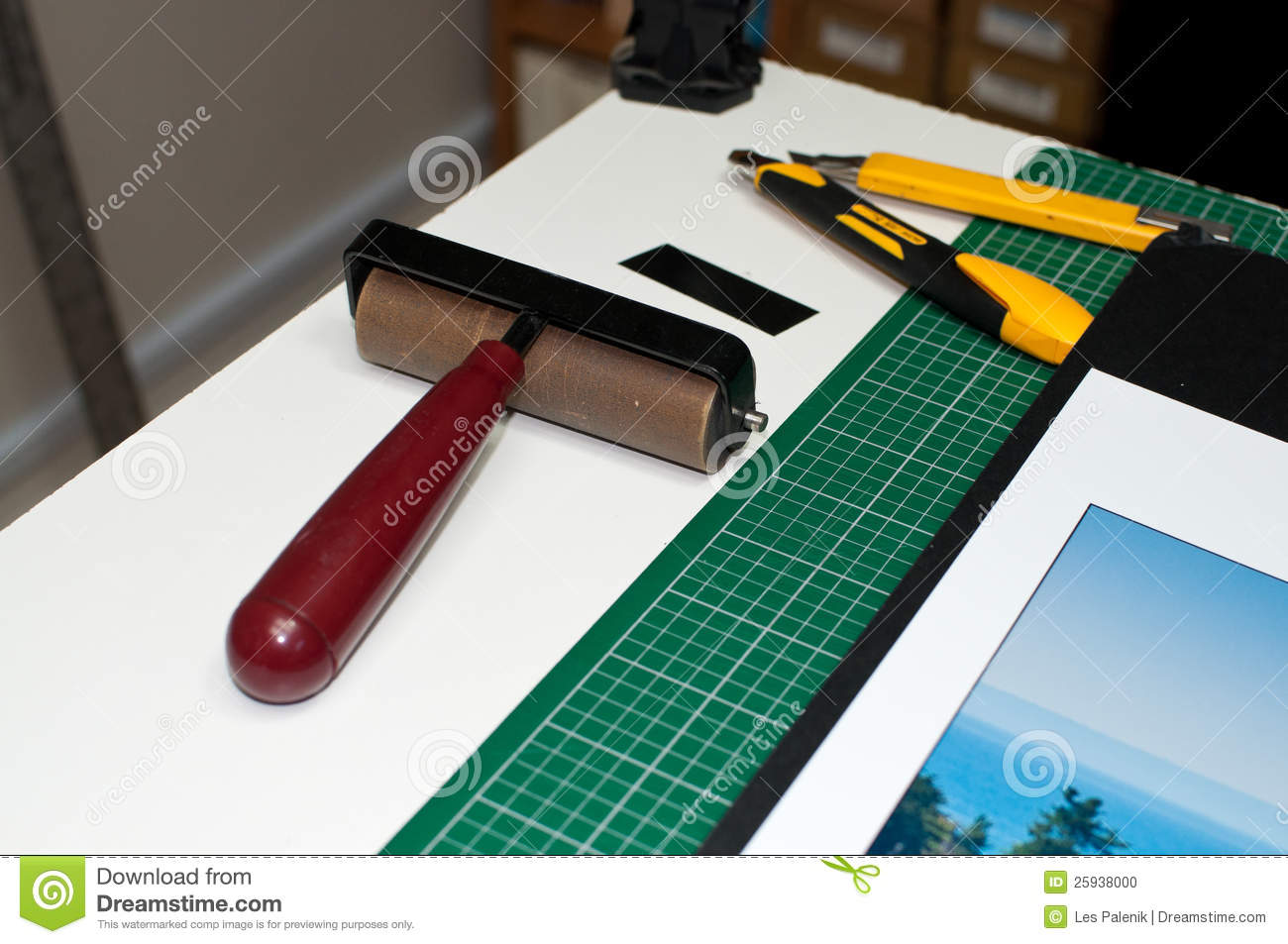 Framing And Mounting Tools Stock Photo Image Of Knife 25938000