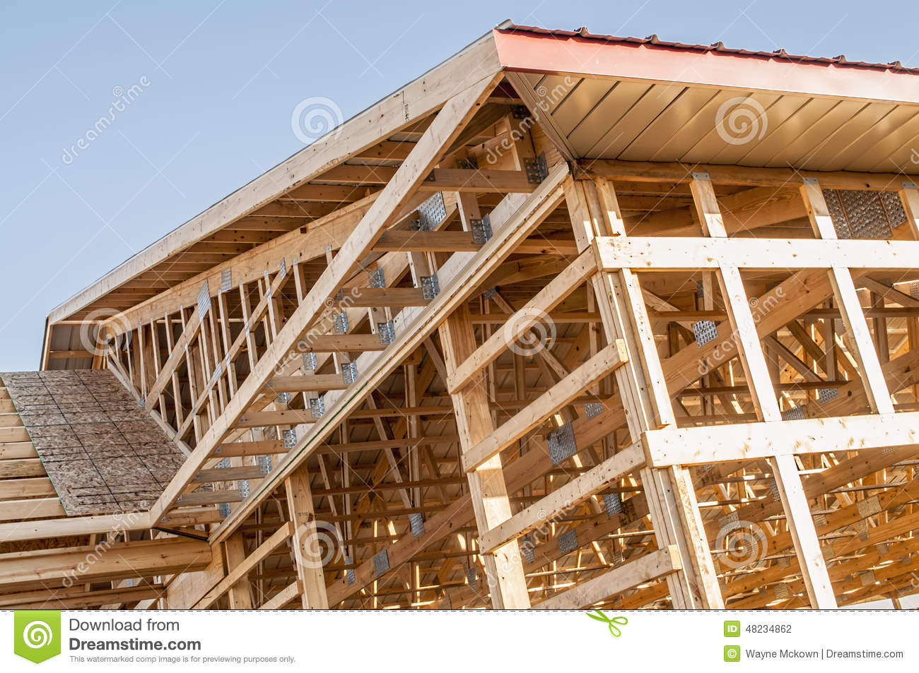 how to build a wood framed tower