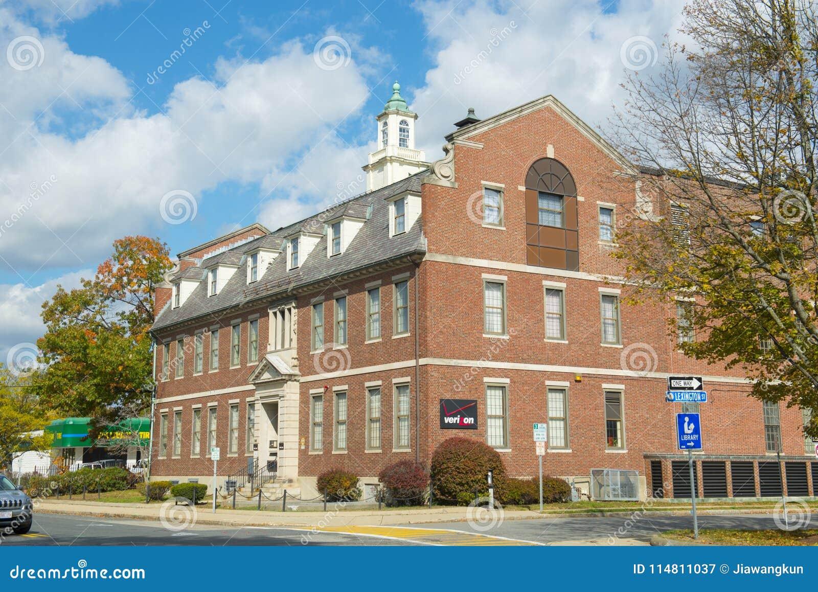 Framingham历史建筑,马萨诸塞,美国