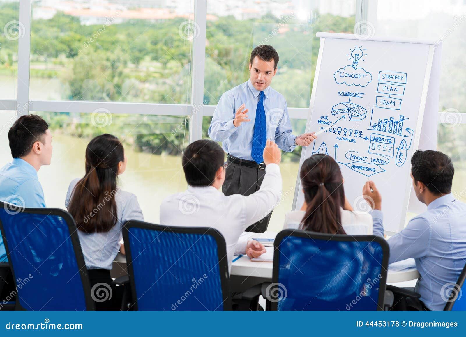 Framlägga affärsstrategi