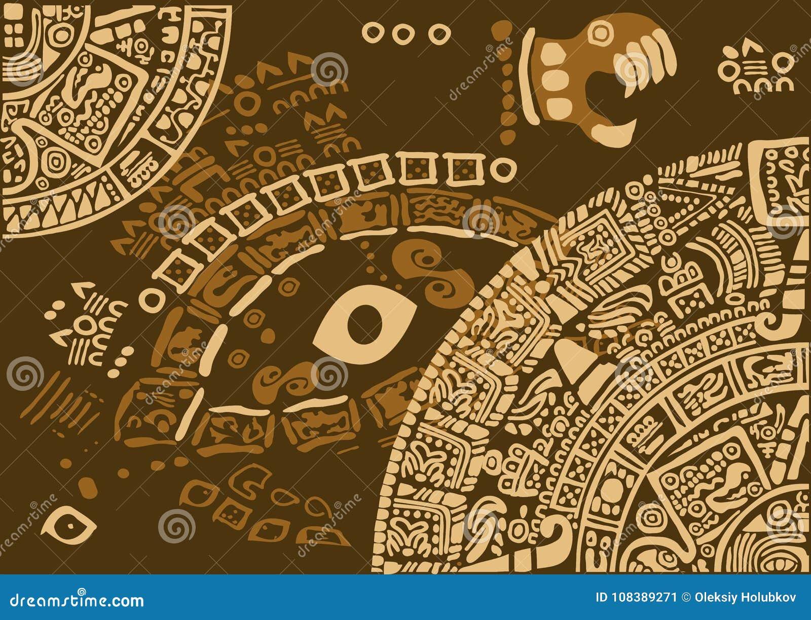 Calendario Antico.Frammento Del Calendario Delle Civilizzazioni Antiche