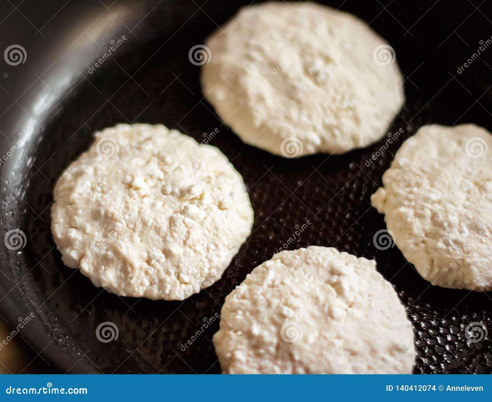 Framställning av dina favorit- pannkakor