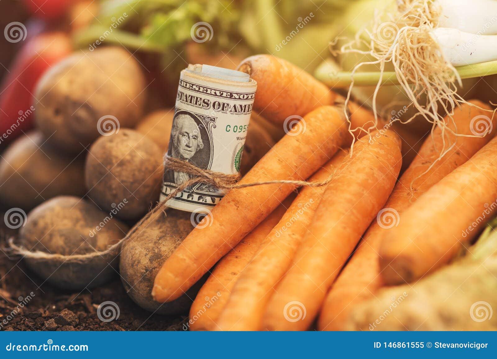 Framställning av vinst från organiskt lantbruk