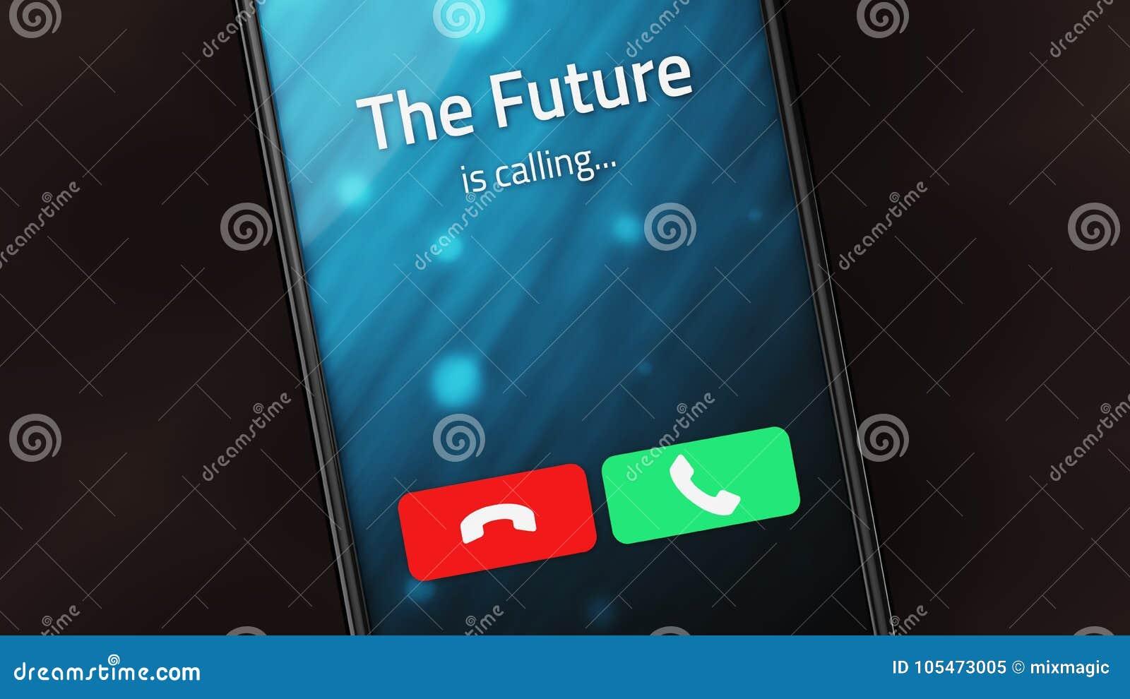 Framtiden kallar på en smart telefon