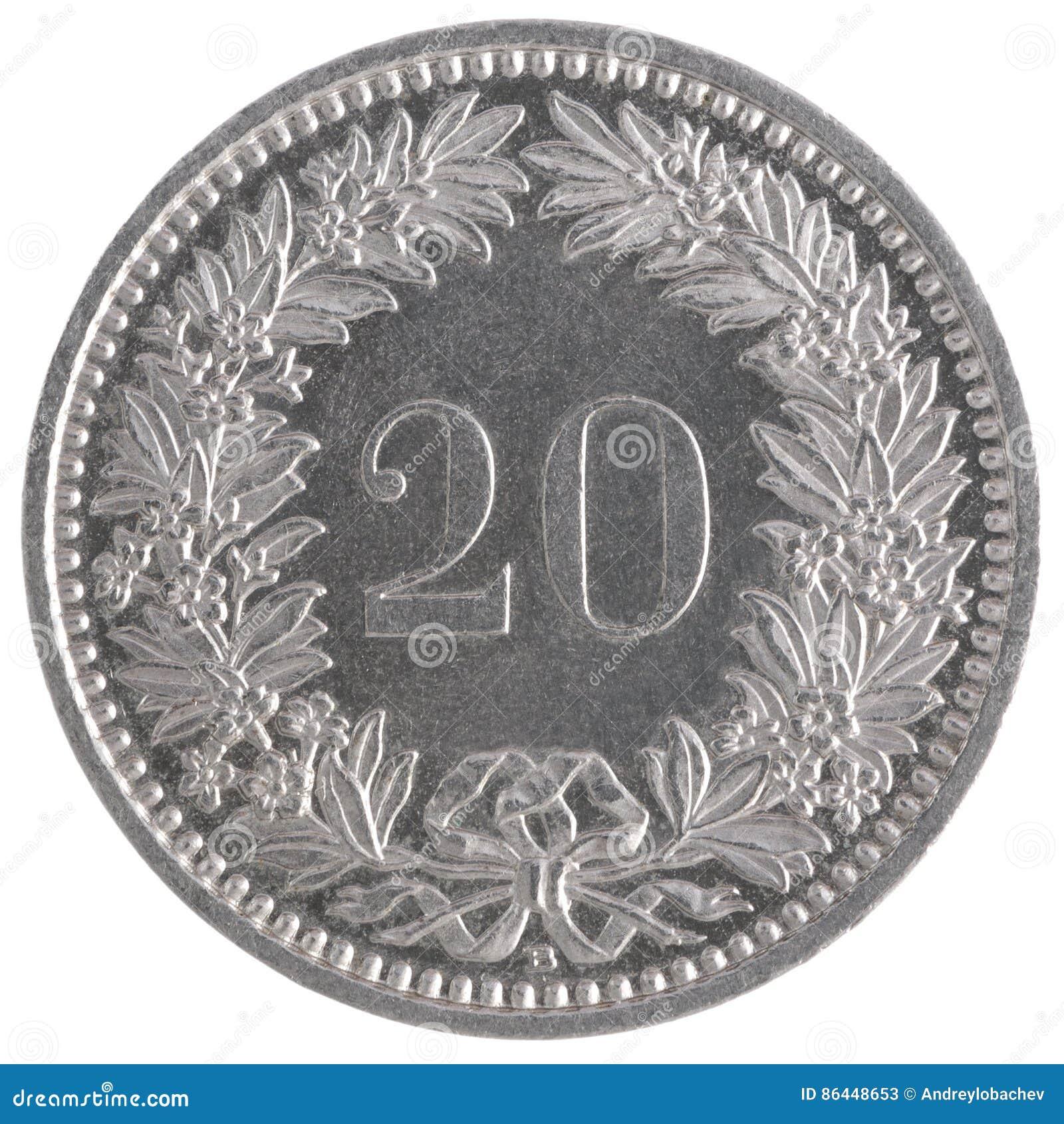 20 franc mynt