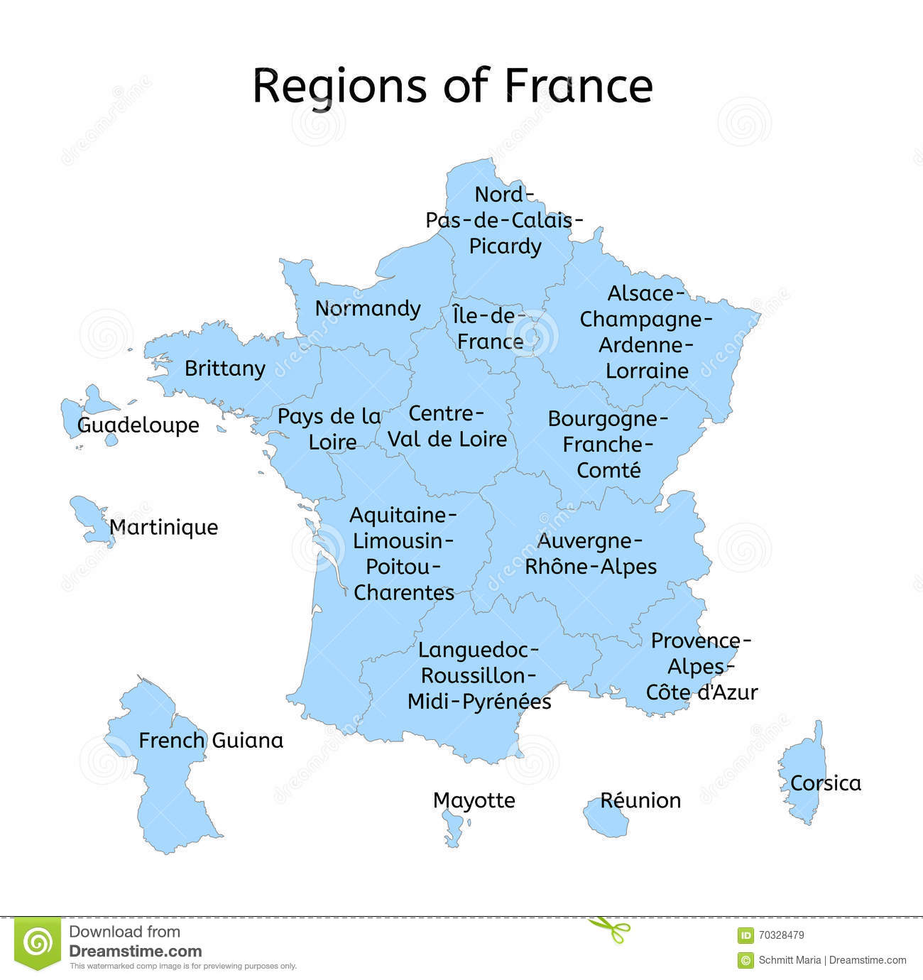 https://thumbs.dreamstime.com/z/france-administrative-map-new-regions-white-70328479.jpg