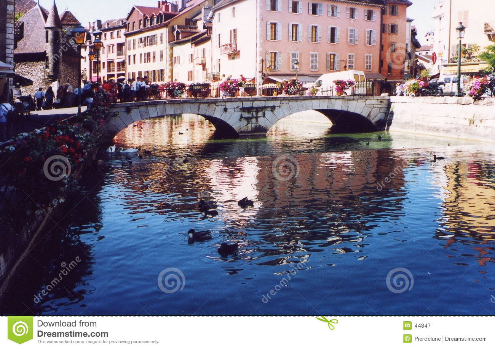 France annecy Savoie haute turystów