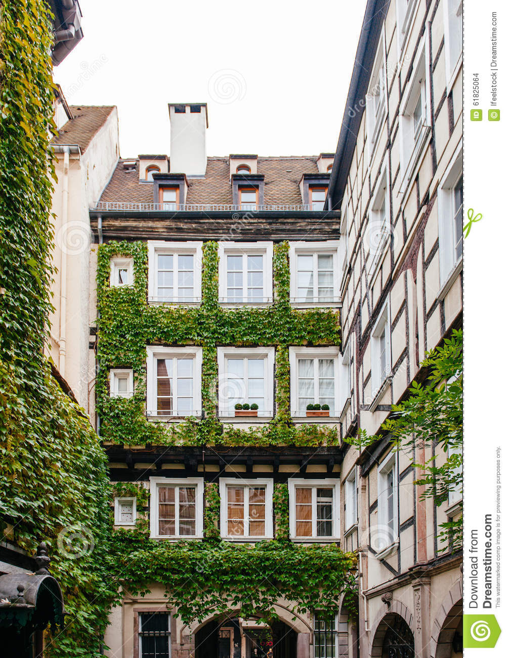 France Architecture Real Estate Investment Stock Photo