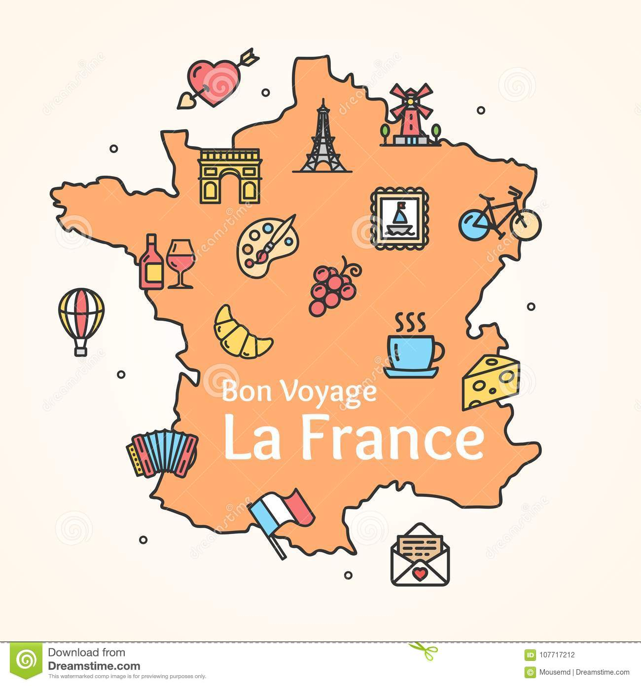 Keynote map of france (full editable) download now!