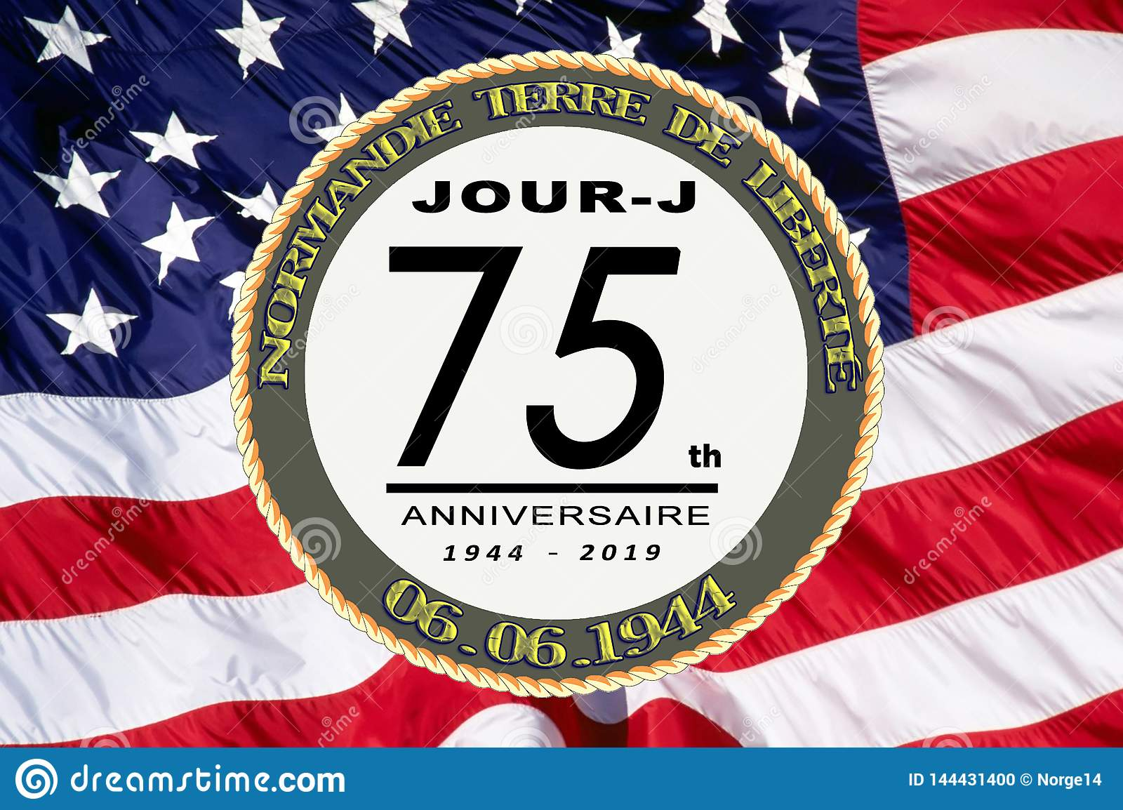 France D Day 75th Anniversary Stock Photo Image Of Invasion Background 144431400