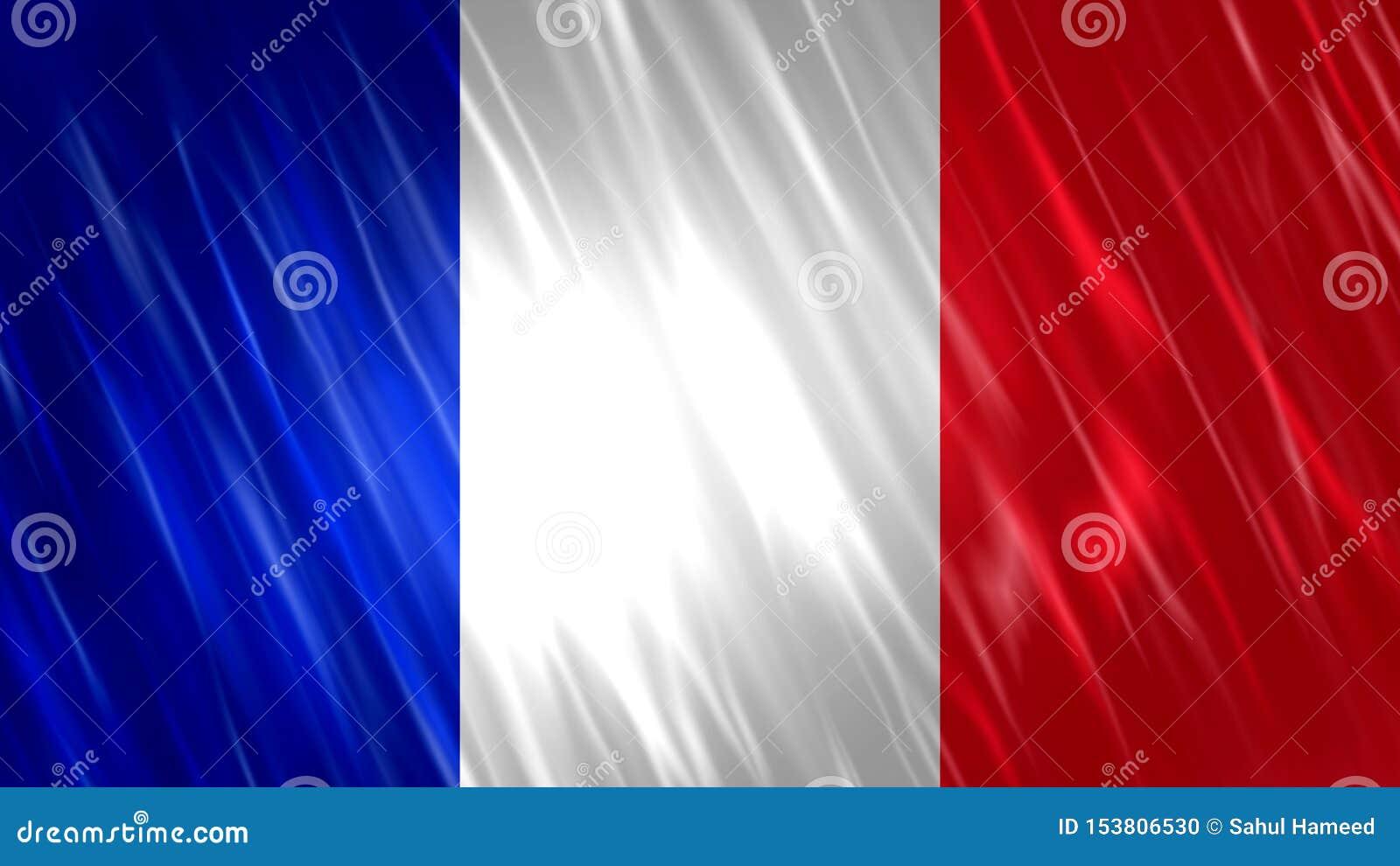 France Flag Stock Illustration Illustration Of Print