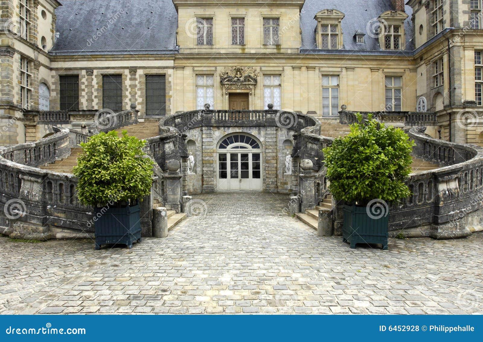 France, Fontainebleau palace