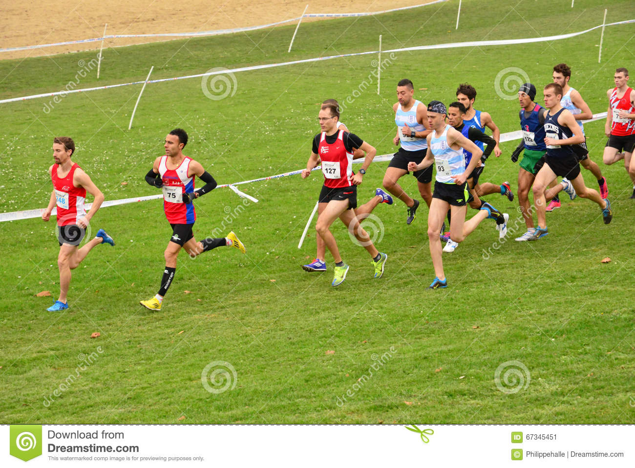 France, International Cross Country Of Les Mureaux On