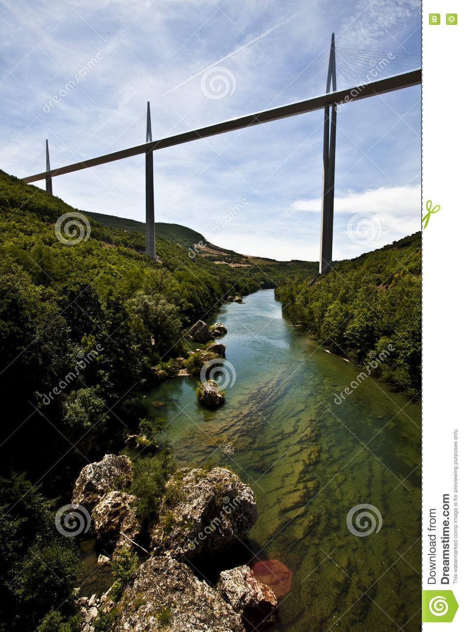 Download France A75 Motorway Editorial Stock Image Of Belcastel