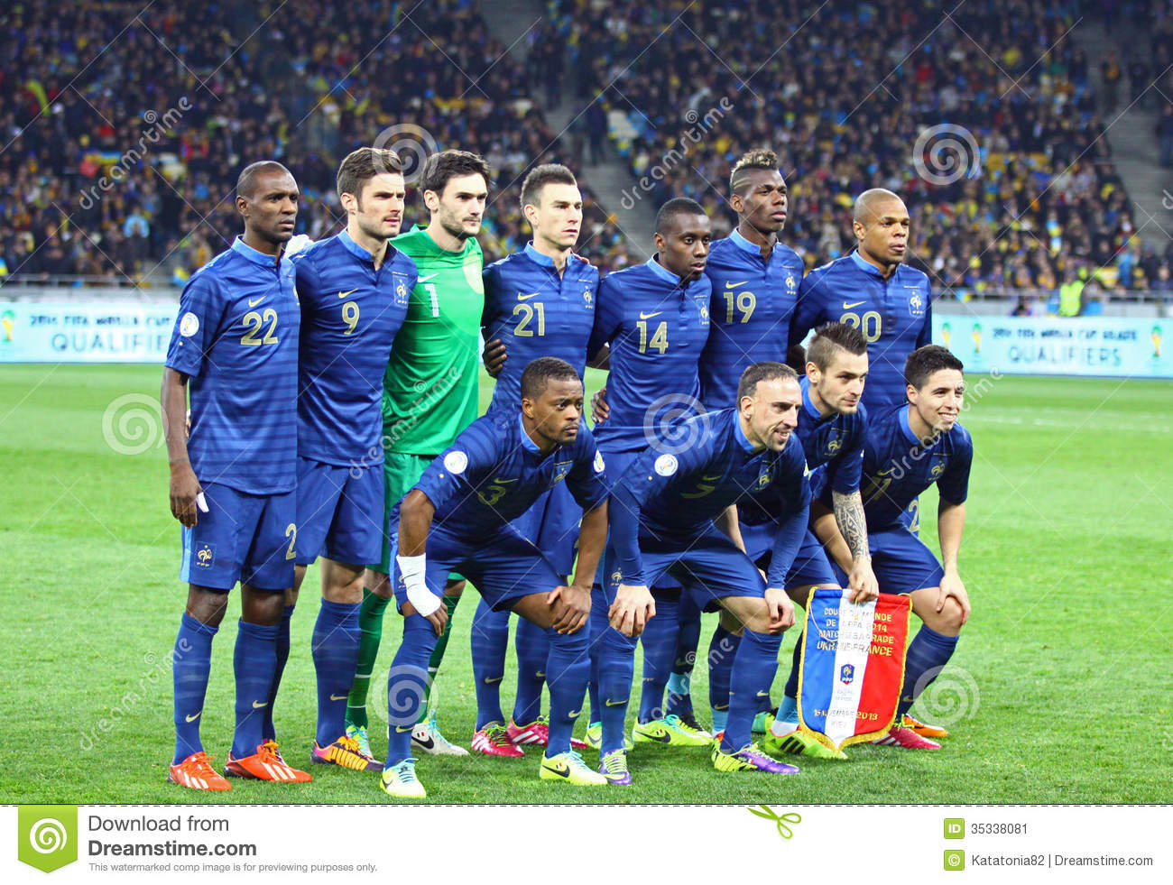 93ef82307 France National Football Team Editorial Photo - Image of group ...