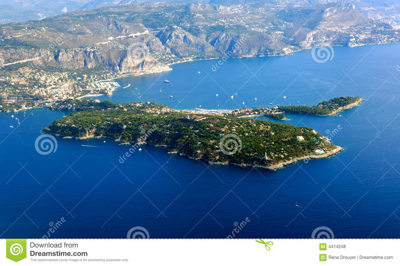 France, Nice: Saint Jean Cap Ferrat Stock Photo - Image of ...
