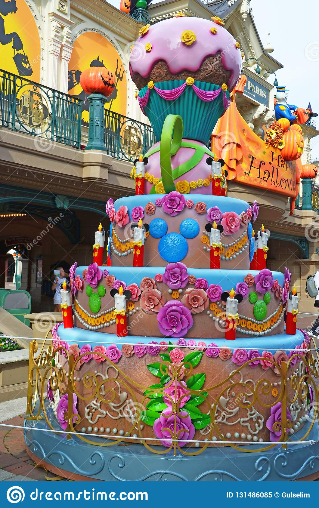 Peachy France Paris Disneyland October 14 2018 Disneyland Paris Funny Birthday Cards Online Chimdamsfinfo