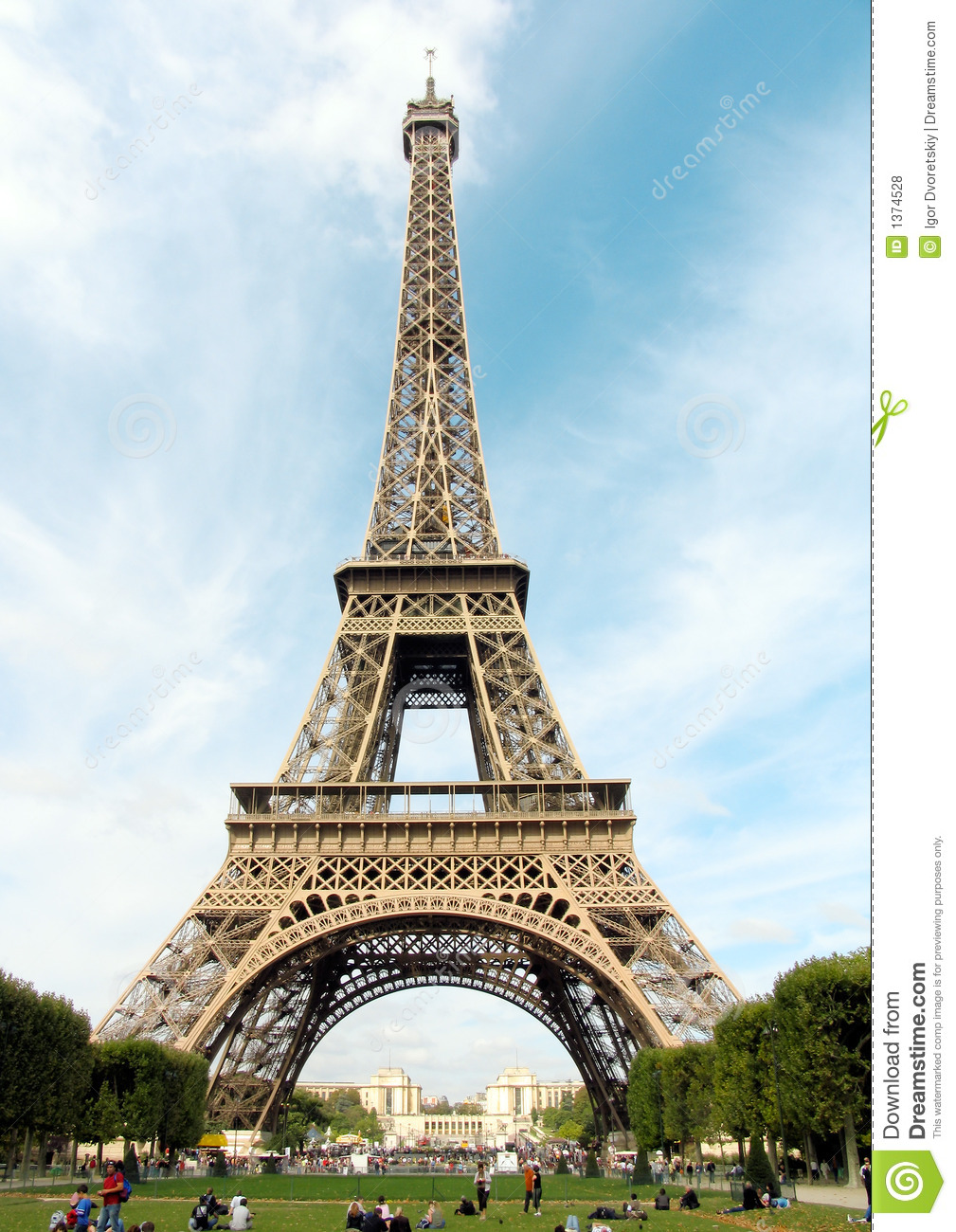 france paris eiffel tower royalty free stock photos. Black Bedroom Furniture Sets. Home Design Ideas
