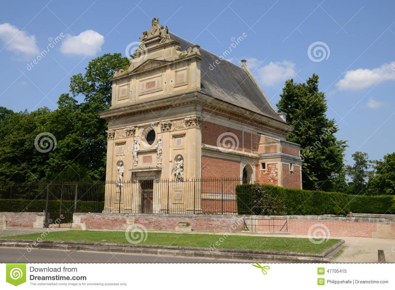 France The Picturesque City Of Anet Stock Photo Image 47705415