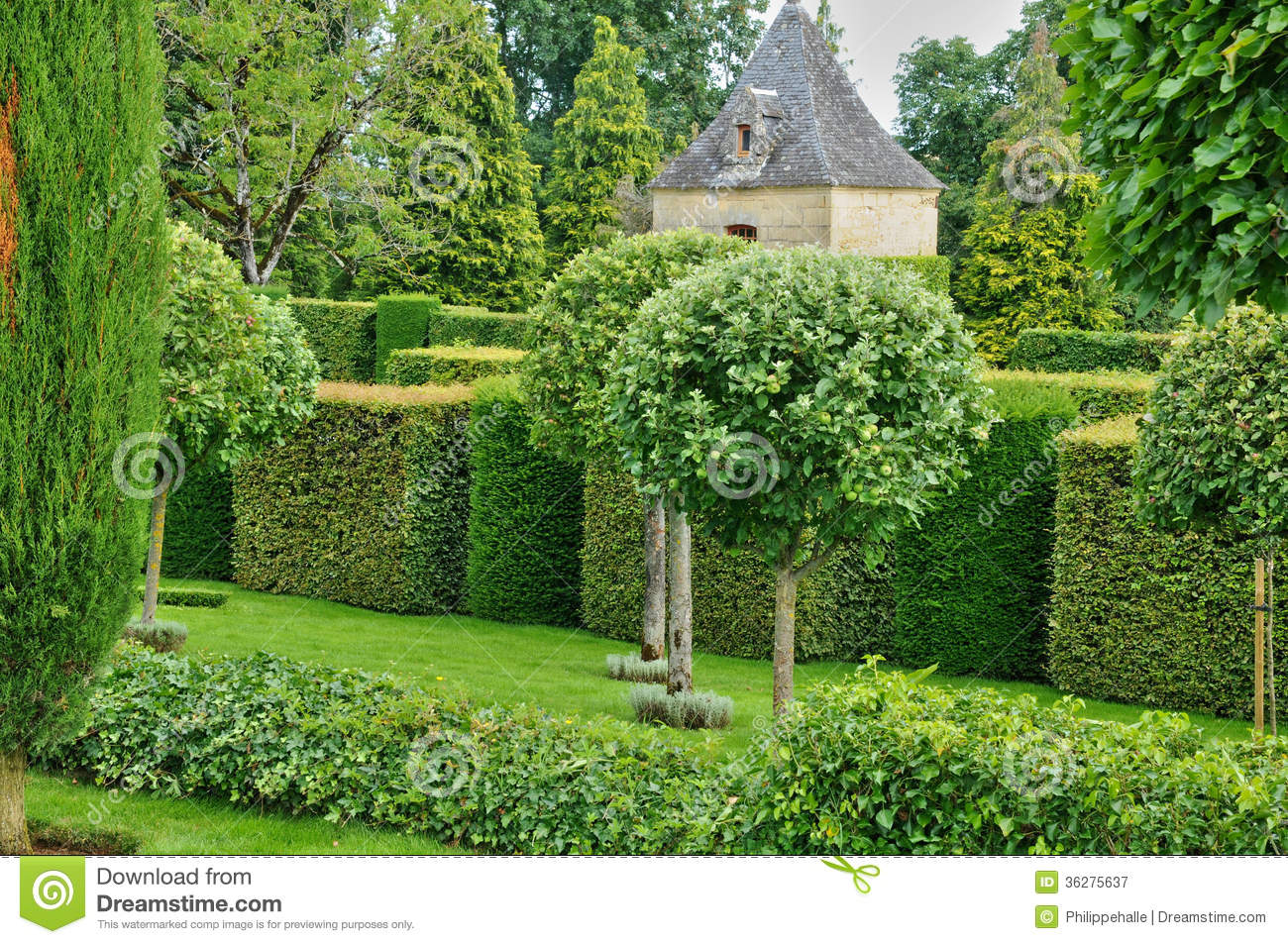 France picturesque jardins du manoir d eyrignac in dordogne royalty free stock photography - Jardin du manoir d eyrignac ...