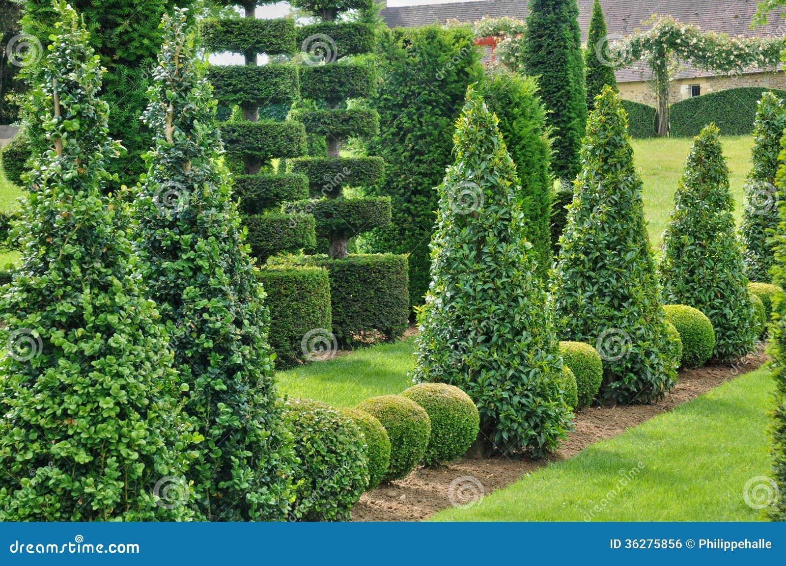 France picturesque jardins du manoir d eyrignac in dordogne stock photo image 36275856 - Jardins du manoir d eyrignac ...