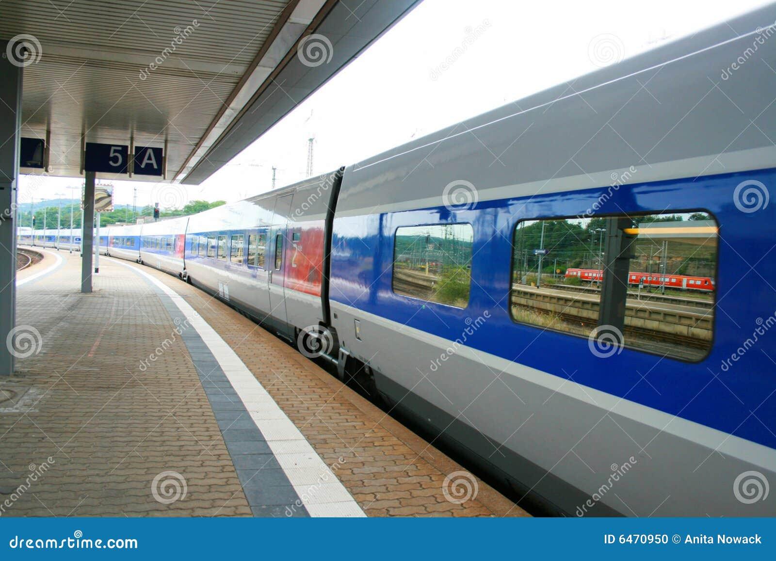 France wysoki pociąg tgv prędkości